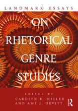 From the Bibliography: Landmark Essays on Rhetorical Genre Studies