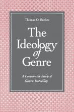 From the Bibliography: The Ideology of Genre (1994) by Thomas O. Beebee Primary